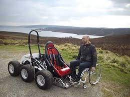 Power Chair With Tracks Hexhog All Terrain Wheelchair