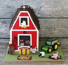 barn cake topper 12 best callum birthday cakes images on anniversary