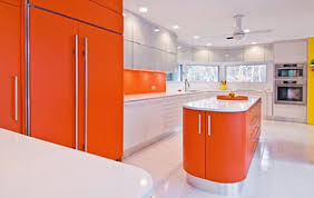 kitchen cabinets orange kitchen backsplash