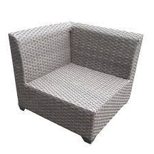 White Wicker Patio Furniture Sets by Catalina 6 Piece Outdoor Wicker Patio Furniture Set 06d Ebay