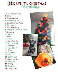 25 days u0027til christmas photo challenge adeline and i are doing
