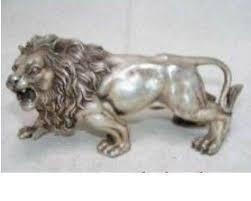 metal lion sculpture lion statue ebay