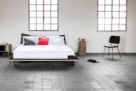 minimalist rigo letto bed frame adds an effortless contemporary