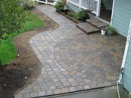 design outdoor landscaping ideas brick paver patio pavers designs