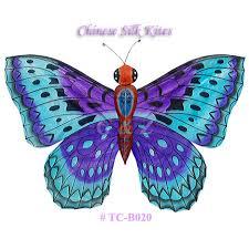 g z wholesale store tc b020 blue purple silk butterfly kites