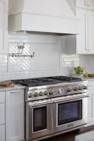 Best  Pot Filler Ideas On Pinterest Pot Filler Faucet Tile - Stove backsplash