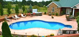 Pool Ideas For Small Backyard by Home Design Backyard Patio With Pool Ideas Farmhouse Expansive
