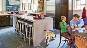 kitchen island and stools stylish kitchen island ideas southern living