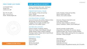 Resume Samples Quran Teacher Resume curriculum vitae alim dibaj
