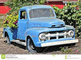 Classic Ford Truck Images - old blue ford pick up truck editorial image image 57926365