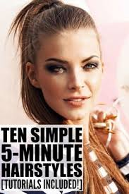 10 simple and easy hairstyles for work running late hairstyles