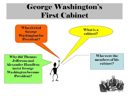 who was in washington s cabinet teacher notes use this template presentation to introduce the bill