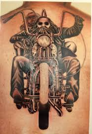 biker motorcycle tattoos