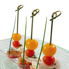 plastic fruit skewers bamboo knotted skewers bamboo knotted picks on us