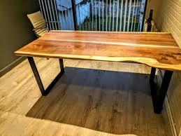 barn door dining table black walnut slabs tables custom restaurant tables custom barn