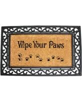 Buy Artsy Doormats Wipe Your Check Out These Holiday Deals On Pb Paws Wipe Your Paws Bath Mat