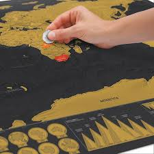 World Scratch Map by Scratch Map Deluxe Prints U0026 Frames Paraphernalia