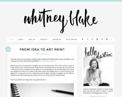 blog design ideas blog design and layout inspiration whitney blake blog http www