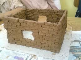 maqueta de casa de adobe house of adobe une maison de brique