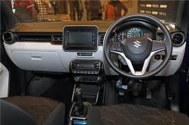 Suzuki Ignis Interior Maruti Suzuki Ignis Previewed All Details Inside