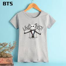 bts the nightmare before t shirt summer