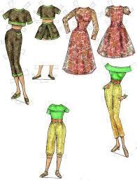 44 paperdolls images vintage paper dolls