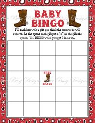 baby shower bingo template pdf baby shower decoration
