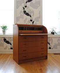teak roll top desk danish teak roll top secretary desk phylum furniture