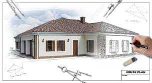 House Plan Sketch Design Design A House In 2 Point Perspective Drawing Class Pinterest