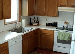 Oak Cabinet Kitchen Makeover - from oak kitchen cabinets to painted white cabinets oak kitchen