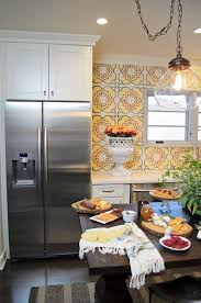 kitchen backsplash mexican tile terracotta tiles spanish style