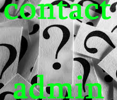 contact admin team home page