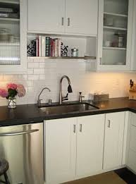 bookshelf idea for above the kitchen sink recipe book storage