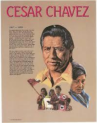 amazon com cesar chavez hispanic heritage poster prints