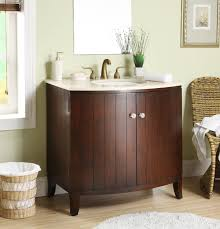 adelina 34 inch solid wood single sink bathroom vanity