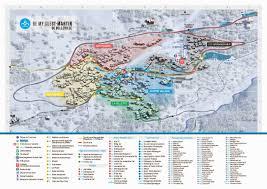 St Martin Map Plan Des Pistes 3 Vallées Saint Martin De Belleville Le Plus