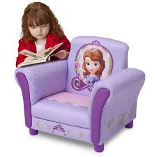 Toddlers Armchair Delta Disney Sophia The First Upholstered Chair Lavender