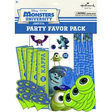 amazon hallmark bb1tpe1740 monsters party favor pk 48