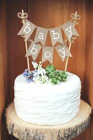burlap cake toppers burlap cake topper best baby shower toppers ideas on boy banner