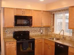 large glass tile backsplash u2013 kitchen glass tile kitchen backsplash ideas pictures image of