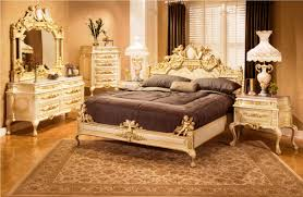 bedroom antique rug under wide bed inside contemporary bedroom