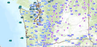 Eastern Washington Map by Cliff Mass Weather And Climate Blog Offshore Flow Eastern