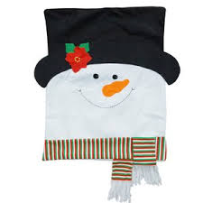 snowman chair covers chair back covers wayfair