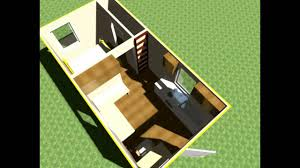 Tiny Home Designs Floor Plans by 3 000 Tiny House Design 10x20 Lofted Tiny Home W Outside