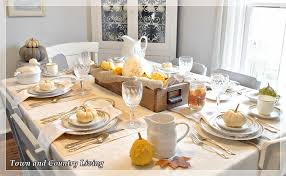 setting a thanksgiving table option one town country living