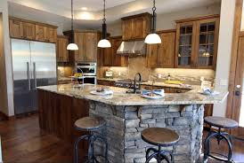 mission style kitchen island kitchen island back panel to give islands a finished look home