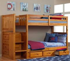 bedding stylish bunk beds for kids with slide ideas childrens