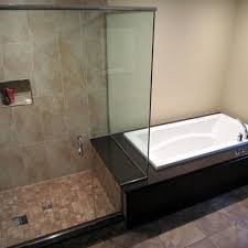 bathroom shower and tub ideas side by side japanese soaking tub shower combination ideas