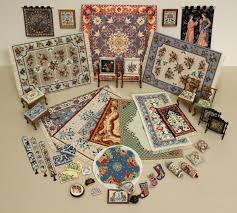 january sale for miniature needlepoint kits for doll s houses is