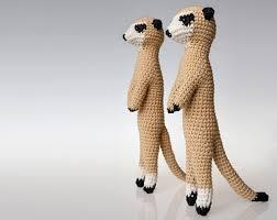 meerkat amigurumi pattern meerkat crochet pattern toy